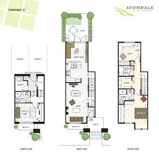 row house floor plans inspirational 222 best my narrow house plan images on of row