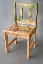 Ideas For Painting Old Wood Chairs