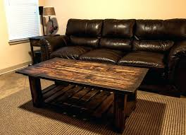 how to build a coffee table from pallets how to make a coffee table out of