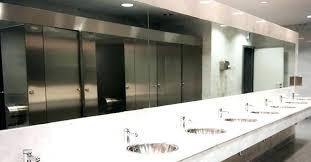 public bathroom mirror. Beautiful Bathroom Restroom Public Bathroom Mirror Two Way Commercial Mirrors Com Medicine  Cabinets With And Public Bathroom Mirror