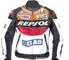 new repsol racing leather jacket by duhan size xl