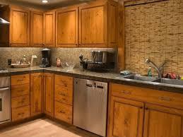 Gany Wood Dark Roast Shaker Door Flat Front Kitchen Cabinets