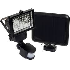 Solar Powered Security Light  Solar Motion Lights Improve Your Solar Sensor Security Light