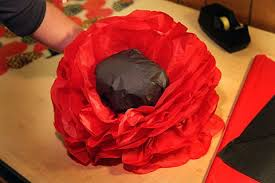 Make A Paper Poppy Flower How To Make A Giant Magical Paper Flower Poppy Garden The