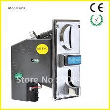 Vending Machine Coin Slot Simple 48 Values Coin Slot HS 6248 For Vending Machines MetalPC Panelin