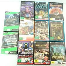 The daily hidden object game challenges you daily, is completely free and you can play any of the previous 7 days scenes. Pc Murder Mystery Puzzle Bundle 11 Game Bulk Lot Hidden Object Games Ebay
