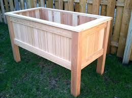 raised garden bed on legs raised vegetable beds on legs image of raised planter box plans raised garden bed on legs