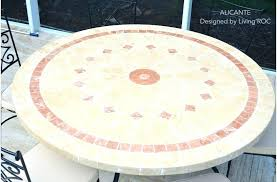 round patio table top replacement mosaic top patio table outdoor patio marble stone round table tile round patio table top replacement