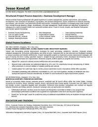 Resume Format For Finance Jobs Finance Resume Sample Banking Resume Format  Naukri