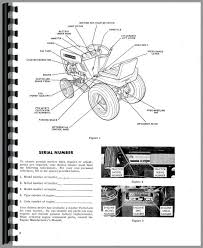 bolens lawn garden tractor operators parts manual tractor manual