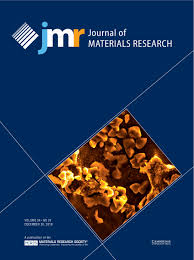 Journal Of Materials And Design Impact Factor Journal Of Materials Research Cambridge Core