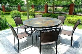 patio dining table slate top dining table round patio dining table slate stone harbor patio dining patio dining table