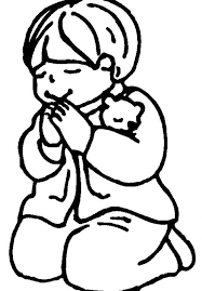 Small Picture Little boy and girl praying clipart collection