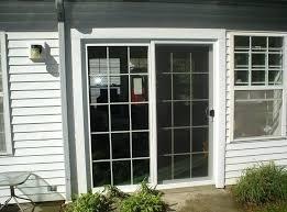 storm door with blinds doors 2 panel sliding glass patio doors raised sliding glass patio doors storm door with blinds