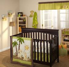 the lion king wild about you 4 piece crib bedding set