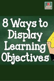 Star Student Pocket Chart 8 Ways To Display Learning Objectives Organized Classroom