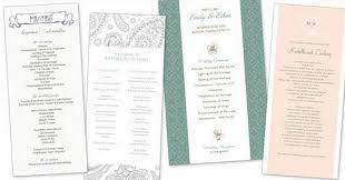 Wedding Ceremony Program Cover Wedding Program Covers
