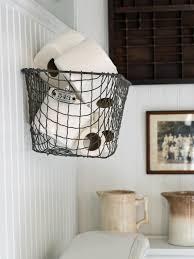 Bathroom wall storage baskets Bathroom Accessory Locker Basket Wall Storage Hgtvcom Easily Boost Bathroom Storage With Wallmounted Baskets Hgtv