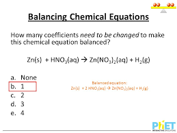 7 balancing chemical equations