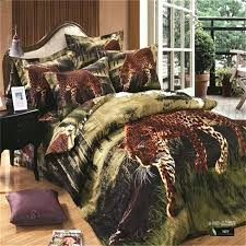 lepard print sheets cheetah comforter sets leopard print bedding set for full queen size jungle animal