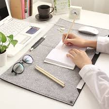 portable office table desk mat large size felt