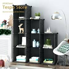 9 cube organizer 9 cube modular storage cube organizer by 4 tier shelving bookcase ameriwood 9