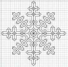 Free Blackwork Embroidery Charts Blackwork Snowflake Needle Work