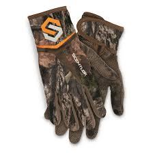Scentlok Size Chart Scentlok Mens Full Season Bow Release Gloves