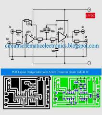 surround sound wiring diagram subwoofer active crossover lm741 surround sound wiring diagram subwoofer active crossover lm741 ic anfÄ°