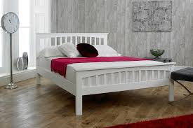 white bed frame. Simple Bed Inside White Bed Frame