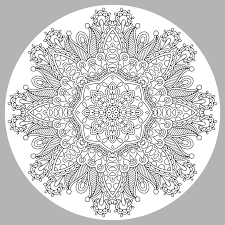 Galerie De Coloriages Gratuits Coloriage Adulte Mandala Par