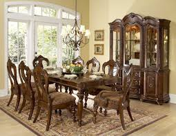 formal dining room sets for 8. Dining Room, Formal Room Sets For 8 Square Grey Classic Stained Wooden Drawer Area Brown T