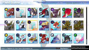 Digimon Cyber Sleuth Digivolution Chart Digimon Story Cyber Sleuth New Digivolutions With Evolution Tree