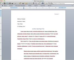 Mla Long Quote Cool How To Create An MLA Template In Word And Pages