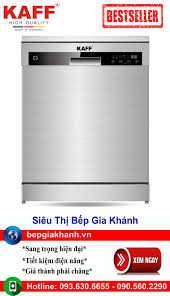 Máy rửa bát cao cấp Kaff KF S906TFT lắp độc lập nhập khẩu chính hãng, máy  rửa chén, máy rửa chén bát, máy rửa bát, máy rửa bát giá rẻ, may rua