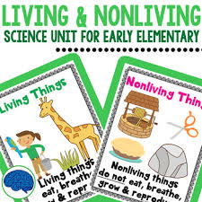 Venn Diagram Living And Nonliving Things Living Nonliving Things Mini Science Unit For Preschool Kindergarten