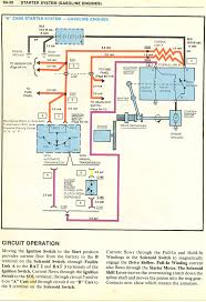wiring diagrams starter system charge circuit