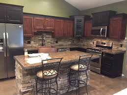 Stamped Concrete Kitchen Floor Countertops Custom Concrete Countertops Northern Michigan
