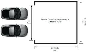 Double Car Garage Door Opener I11 All About Elegant Small Home Double Car Garage Size
