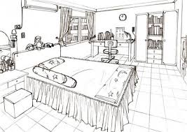 Awesome Photo 3 Of 10 One Point Perspective Bedroom   Google Search (ordinary  Bedroom Drawing #3)