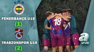 Fenerbahçe U19 1-2 Trabzonspor U19 Maç Özeti (Süper Lig U19 Gelişim Ligi  Yarı Final Maçı) - YouTube