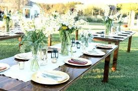 Rectangle Tables Wedding Reception Rectangle Tables Wedding Reception