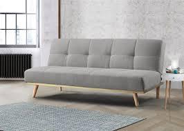 birlea snug light stone grey fabric