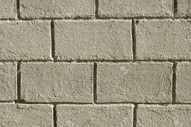 Concrete Brick Wall Photo Background Rough Grey Stone Bricks
