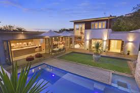 of a in ground pool from a real australian home pool photo u shaped house plans