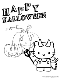 Happy new year balloons greeting card of new year wishes. Hello Kitty Jack Lantern Halloween Coloring Pages Printable