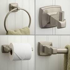 Bathrooms Design Timpson Bath Accessories Set Brushed Nickel