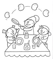 Kleurplaten Gezond Eten Brekelmansadviesgroep