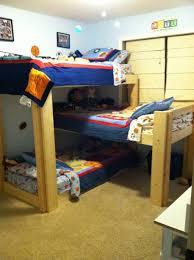 l shaped bunk designs diy loft plans building ideas bedroom triple for
