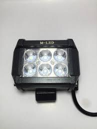 Đèn pha led trợ sáng C6 gắn xe máy Thanh Khang 002000016